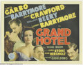 Movie Posters:Drama, Grand Hotel (MGM, 1932)....