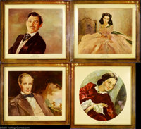 Gone With the Wind (MGM, 1939).... (6 pieces)