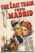 Movie Posters:Drama, The Last Train to Madrid (Paramount, 1937)....