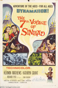 Movie Posters:Fantasy, 7th Voyage of Sinbad (Columbia, 1958)....