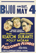 Movie Posters:Comedy, The Passionate Plumber (MGM, 1932)....