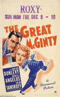 Movie Posters:Comedy, The Great McGinty (Paramount, 1940)....