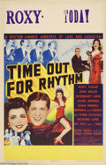 Movie Posters:Comedy, Time Out for Rhythm (Columbia, 1941)....