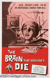 The Brain That Wouldn't Die (American International, 1962)