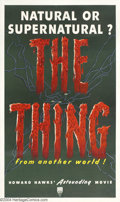 Movie Posters:Science Fiction, The Thing From Another World (RKO, 1951)....