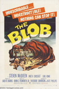 Movie Posters:Science Fiction, The Blob (Paramount, 1958)....