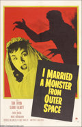 Movie Posters:Science Fiction, I Married a Monster From Outer Space (Paramount, 1958)....