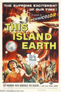 Movie Posters:Science Fiction, This Island Earth (Universal, 1955)....