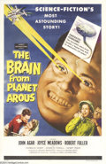 Movie Posters:Science Fiction, Brain From the Planet Arous (Howco, 1957)....