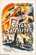 Movie Posters:Science Fiction, Missile Monsters (Republic, 1958), Satan's Satellites (Republic,1958).... (2 Movie Posters)
