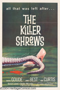 Movie Posters:Science Fiction, The Killer Shrews (McLendon Radio Pictures, 1959)....