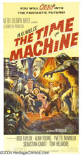Movie Posters:Science Fiction, the Time Machine (MGM, 1960)....