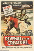 Movie Posters:Science Fiction, Revenge Of The Creature (Universal, 1955)....