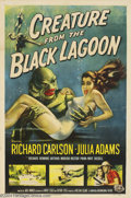 Movie Posters:Horror, The Creature From the Black Lagoon (Universal International,1954)....