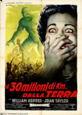 Movie Posters:Science Fiction, 20 Million Miles to Earth (Columbia, 1960)....