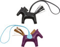 Luxury Accessories:Accessories, Hermès Set of Two: Rodeo PM Charms Conditi...