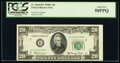 Fr. 2064-B* $20 1950E Federal Reserve Star Note. PCGS About New 50PPQ