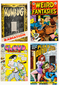 Underground and Adult Humor Comix Group of 9 (Various Publishers, 1950s-70s) Condition: Average VG.... (Total: 9)