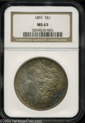 Morgan Dollars: , 1891 MS63 NGC. The current Coin Dealer Newsletter (...