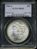 Morgan Dollars: , 1902-S MS65 PCGS. The current Coin Dealer Newsletter (...