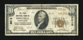 National Bank Notes:Pennsylvania, Bernville, PA - $10 1929 Ty. 2 The First NB Ch. # 8913. ...