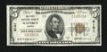 National Bank Notes:Kansas, Waverly, KS - $5 1929 Ty. 1 The First NB Ch. # 6101. ...