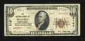 National Bank Notes:Pennsylvania, Malvern, PA - $10 1929 Ty. 2 The NB of Malvern Ch. # 3147. ...