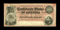 Confederate Notes:1864 Issues, T64 $500 1864. This colorful $500 note is of the dark red background variety with a high serial number for the issue. The up...