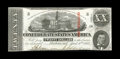 Confederate Notes:1863 Issues, T58 $20 1863. This 3rd Series $20 has bright paper that reveals apinhole after intense scrutiny. The bottom edge drifts ins...
