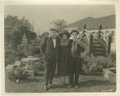 Movie/TV Memorabilia:Photos, Buster Keaton, Fatty Arbuckle and Alice Lake Double-Weight CandidPictures . Two Legends of silent screen comedy, Fatty Arbu...