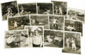 "Movie/TV Memorabilia:Photos, Buster Keaton and Viola Dana Photos. This charming baker's dozen oforiginal 8"" x 10"" photos shows Buster at play with silen... (Total:13 )"