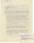 Movie/TV Memorabilia:Autographs and Signed Items, Jerry Lewis and Dean Martin Signed TV Contract (1955). A three-page agreement between NBC and Dean Martin and Jerry Lewis, d...