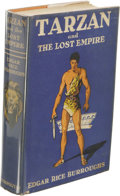 Books:First Editions, Edgar Rice Burroughs: Tarzan and the Lost Empire. (New York:Metropolitan Books, 1929), first edition, 313 pages, jacket...