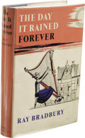 Books:First Editions, Ray Bradbury: The Day It Rained Forever. (London: Rupert Hart-Davis, 1959), first edition, 254 pages, jacket design by J...