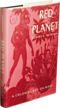 """Books:First Editions, Robert A. Heinlein: Red Planet, A Colonial Boy on Mars. (New York: Charles Scribner's Sons, 1949), first edition (""""A"""" an..."""