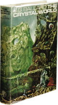 Books:First Editions, J. G. Ballard: The Crystal World. (London: Jonathan Cape,1966), first edition, 221 pages, Max Ernst painting as the cov...
