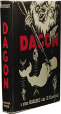 "Books:First Editions, H. P. Lovecraft: Dagon & Other Macabre Tales. (SaukCity: Arkham House, 1965), first edition (""Thirty-five hundredcopie..."