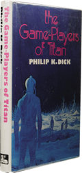 Books:First Editions, Philip K. Dick: The Game-Players of Titan. (London: WhiteLion Publishers, Ltd., 1974), first hardcover edition, 188 pag...