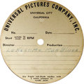 """Music Memorabilia:Recordings, Frank Sinatra """"Lonesome Man Blues""""/""""A Good Man"""" Acetate (UniversalPictures 1679). Both were featured on the 1968 album Fr..."""