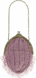 Movie/TV Memorabilia:Costumes, Marilyn Monroe Lavender Clutch Purse. A small, beaded lavenderclutch purse with beaded fringe, from Monroe's personal wardr...