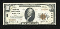 National Bank Notes:Maine, Augusta, ME - $10 1929 Ty. 2 First National Granite Bank Ch. # 498....