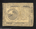 Colonial Notes:Continental Congress Issues, Continental Currency May 10, 1775 $6 Fine-Very Fine. Well ...