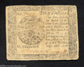Colonial Notes:Continental Congress Issues, Continental Currency September 26, 1778 $40 Fine. The ...