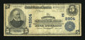 National Bank Notes:Pennsylvania, Chester, PA - $5 1902 Plain Back Fr. 598 The Chester NB Ch. #(E)2904. ...