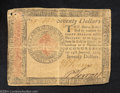 Colonial Notes:Continental Congress Issues, Continental Currency January 14, 1779 $70 Fine-Very Fine. ...