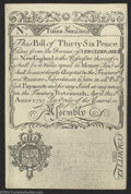 Colonial Notes:New Hampshire, New Hampshire Cohen Reprint April 1, 1737 3s Choice Crisp ...