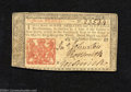 Colonial Notes:New Jersey, New Jersey March 25, 1776 18d Extremely Fine. Poorly cut ...
