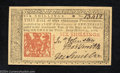 Colonial Notes:New Jersey, New Jersey March 25, 1776 6s Superb Gem New. Broadly ...