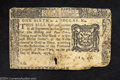Colonial Notes:New York, New York March 5, 1776 $1/6 Fine. VF from the point of ...