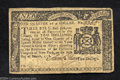 Colonial Notes:New York, New York March 5, 1776 $1/4 Very Fine. A solid, problem-...